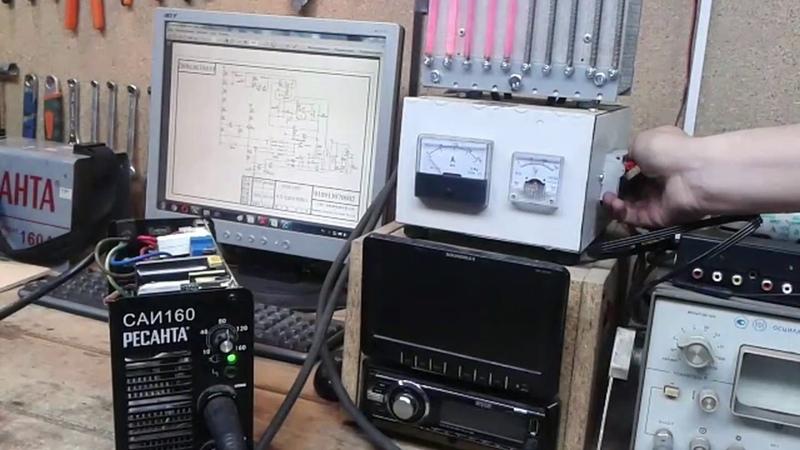 Ресанта САИ 160 - снова ремонт дежурки
