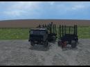 Приват Мод kamaz 54115 forest trailer Farming Simulator 2015