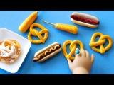 Как сделать вредную еду для кукол