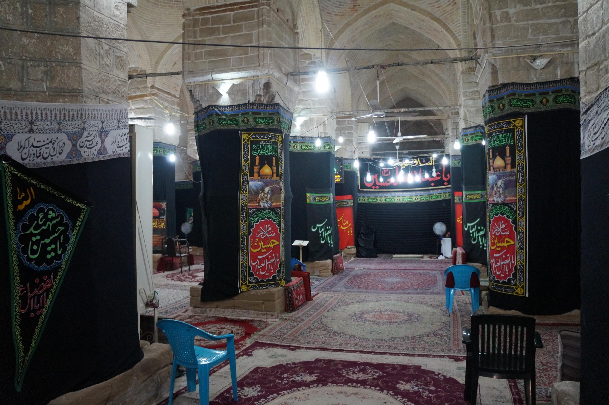 Закрытая от неверных часть мечети