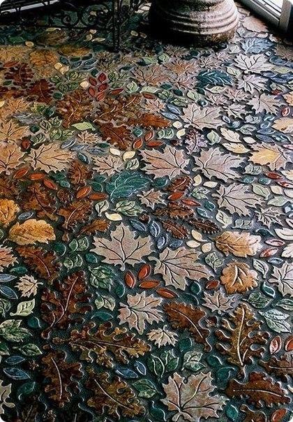 Необыкновенный мозаичный пол