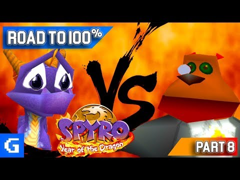 Spyro 3: Year of the Dragon [Road to 100%] [08] [Midnight Mountain] - Moneybags Strikes Back!