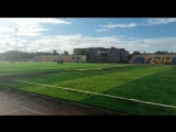 Обновлённый городской стадион в Лисаковске
