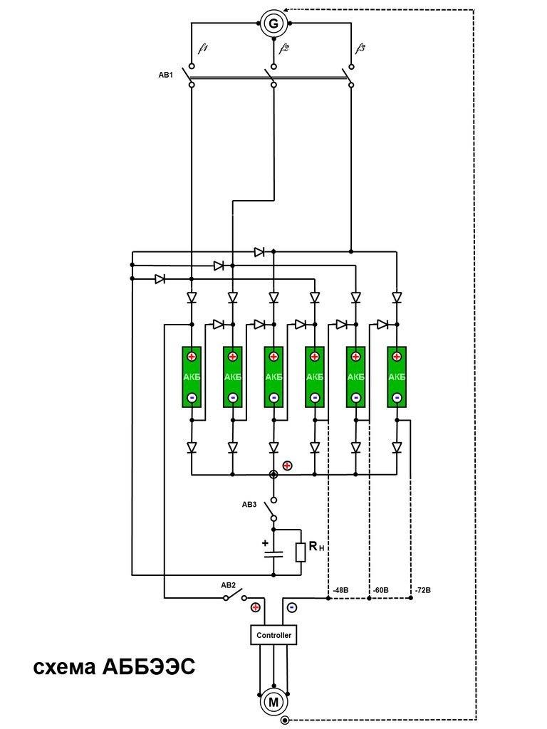 Схема генератор бестопливный