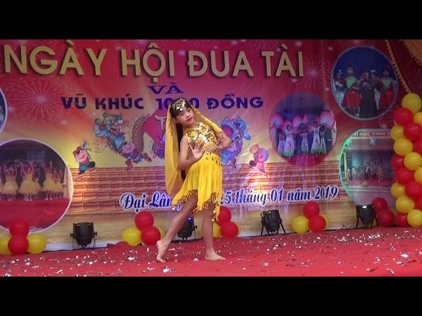Múa Ấn Độ- Trường TH Đại Lâm