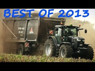 Best of Agricultural Machines 2013 - John Deere, Fendt Deutz, Krone, MB Trac, Claas, Valtra, Case IH