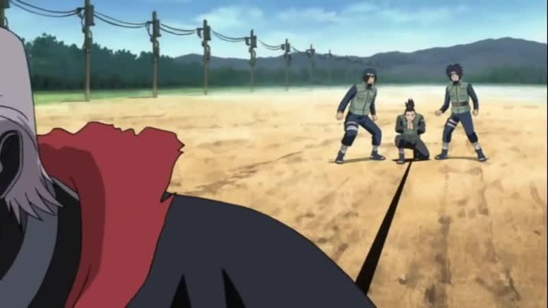 Асума и Шикамару против Хидана