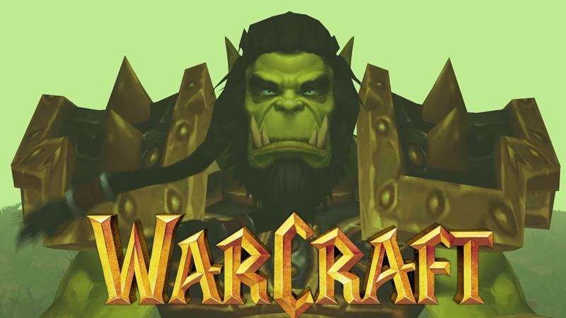 Сюжет Warcraft 3 МАШИНИМА Эпизод 2