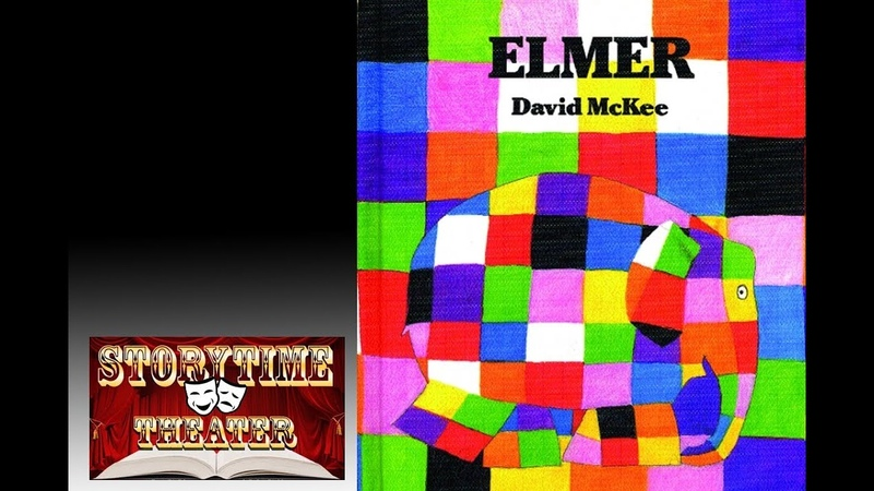 Elmer (the Patchwork Elephant) - Children's Books Read Aloud