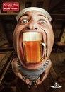 Рекламщики паба Beer Point очень постарались, чтобы привлечь внимание к своему детищу.