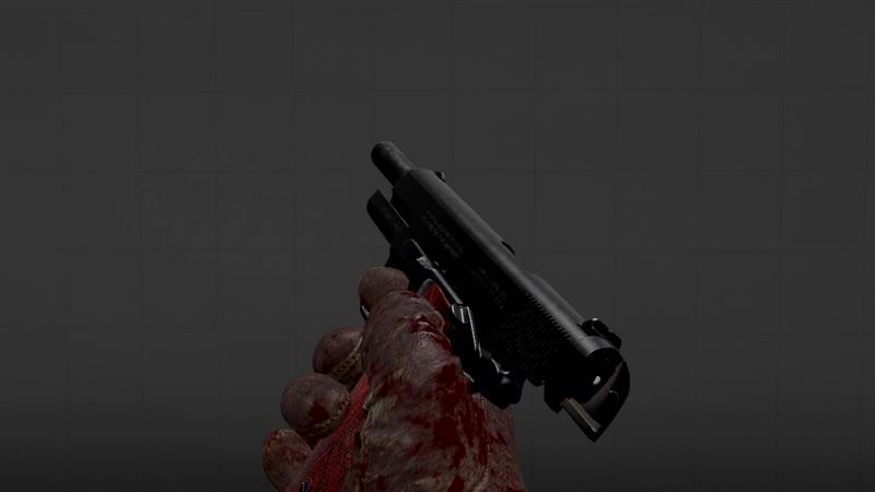 SFM pistol - Test