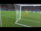 Joe Hart Calls For The Ball After Free Kick - England vs Italy - World Cup 2014