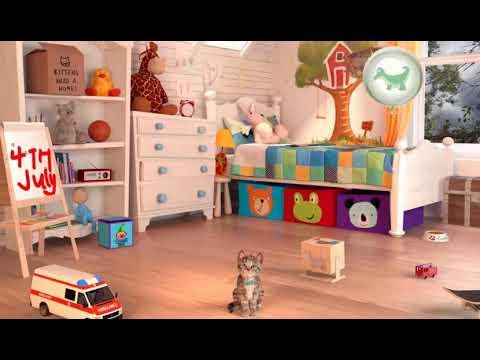 Котик - мой милый маленький питомец ! Little kitten ! Мультик игра для детей ! Пупусики