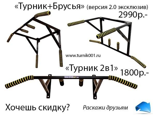 """модель """"Турник+Брусья"""""""