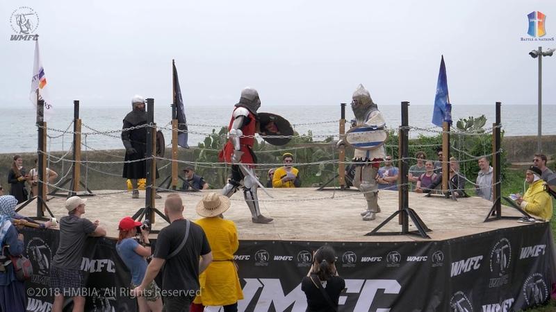 Battle of Nations 2018 5мая 1vs1 wmfc 6fiht Israel Моргулис vs Poland R Szatecki