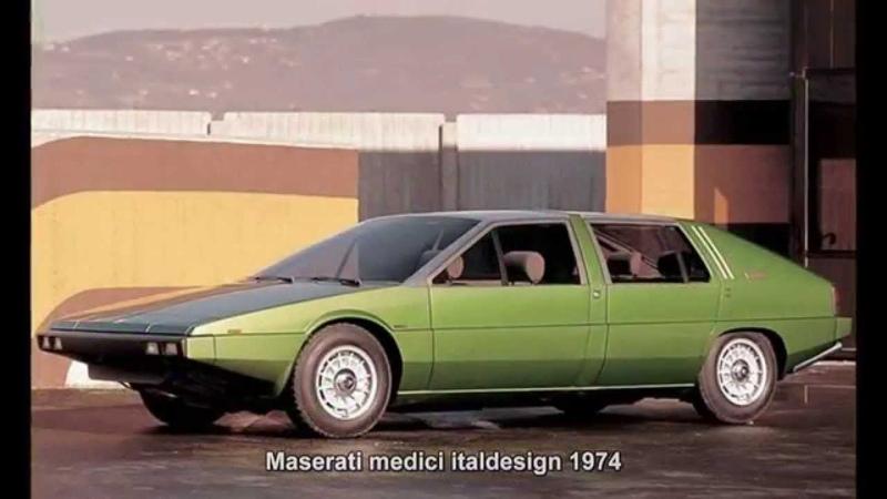 522. Maserati medici italdesign 1974 (Prototype Car)