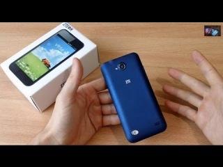 Телефон ZTE V956 Quad Core Видео обзор!