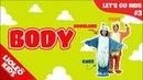 Tiếng Anh cho bé qua Sách Let's go 3 : bé học tiếng Anh về bộ phận cơ thể người  Lioleo Kids 