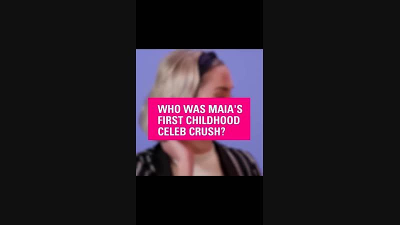 Maia Cierra на интервью для MTV.
