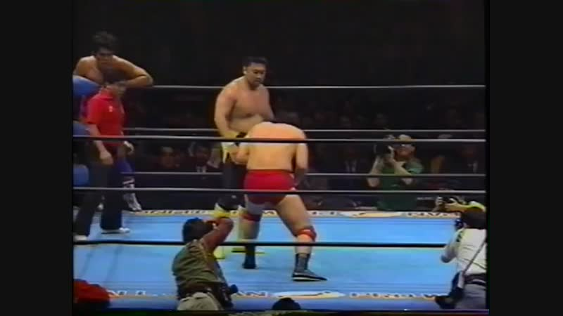 1993.11.30 - Toshiaki Kawada/Akira Taue vs. Jun Akiyama/Tamon Honda [JIP]