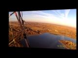 Вид сверху - озеро Пенеснарь