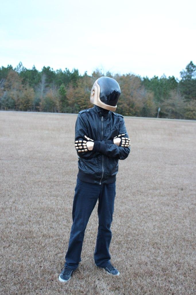 Cardboard Helmet Tutorial Daft Punk Helmet Tutorial