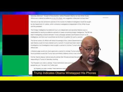 Trump Indicates Obama Wiretapped His Phones P1