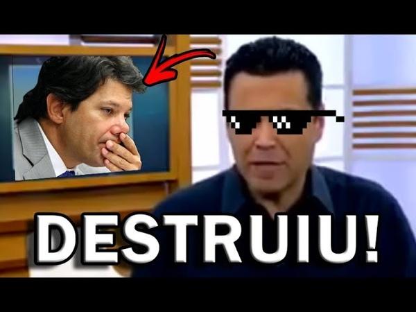 REDE RECORD DESMASCARA AO VIVO FERNANDO HADDAD IURD REFUTANDO HIPÓCRITAS DO PT