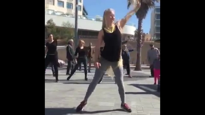 Irina Ratomskaya Gorgeous long blonde hair Fitness Rapunzel
