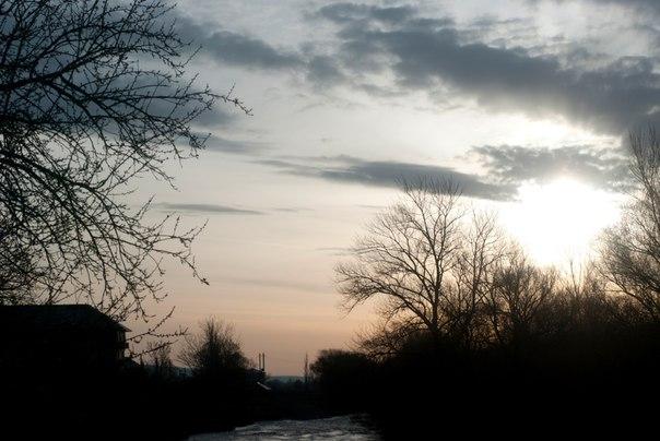 Небо, утро, Подкумок