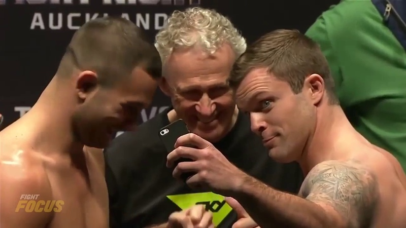 Самые смешные стердауны бойцов UFC.