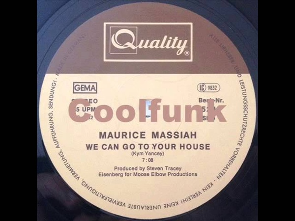 Maurice Massiah - We Can Go To Your House (12 Boogie-Funk 1982)