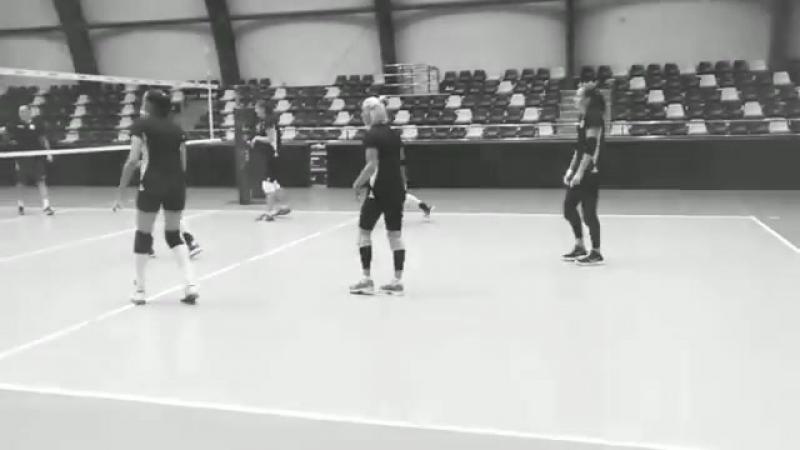 Тренировка Динамо Краснодар в Баку