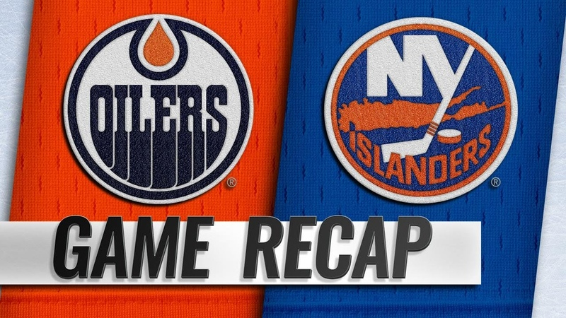 Five different Isles score in win against Oilers