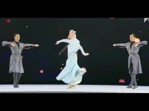 ансамбль Сухишвили - танец Даиси (Давлури) 23.09.2018