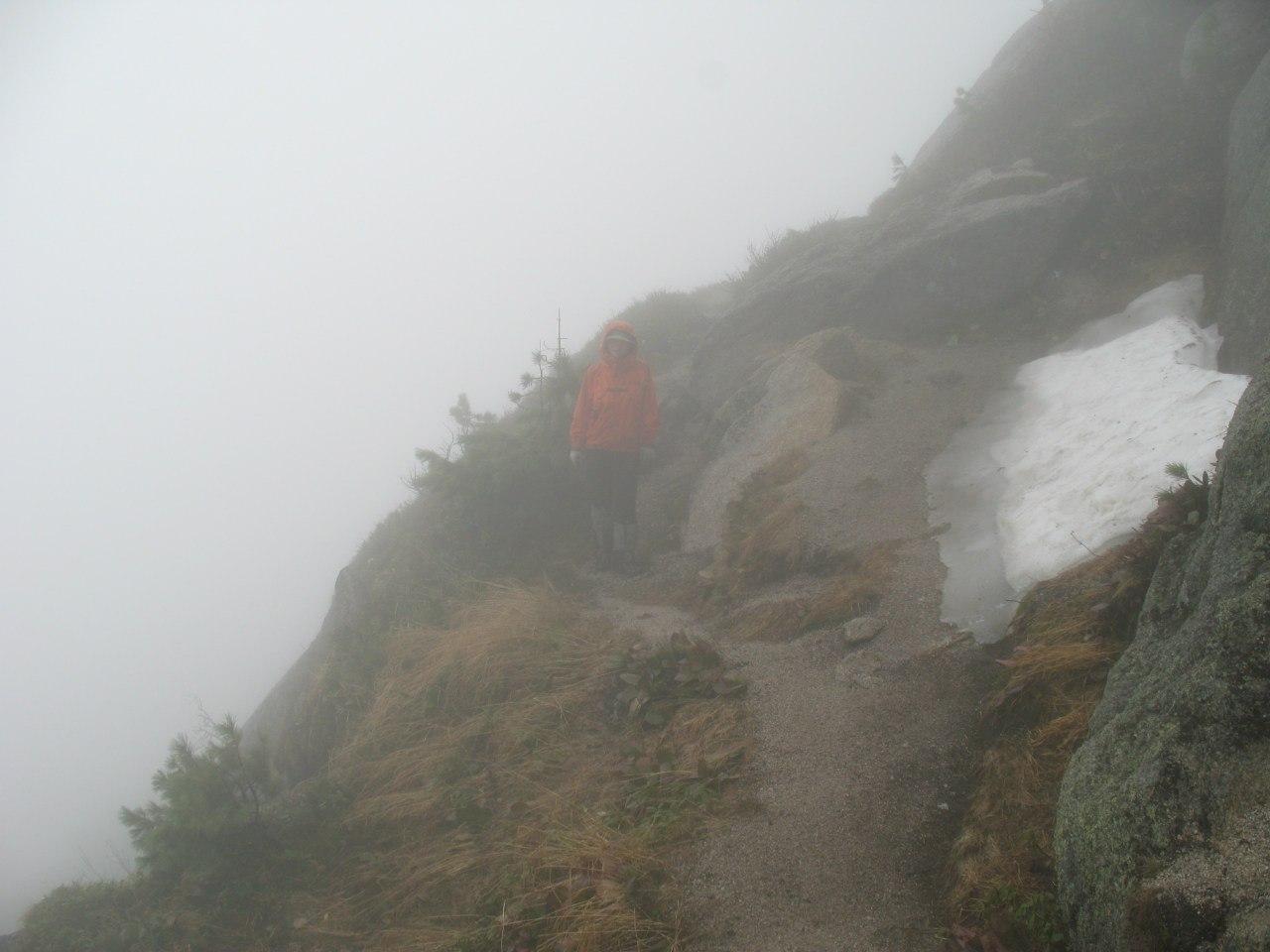 Ежики в тумане на перевале Тайгиш