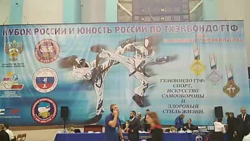Демские спортсмены борются за победу на Кубке России по тхэквондо