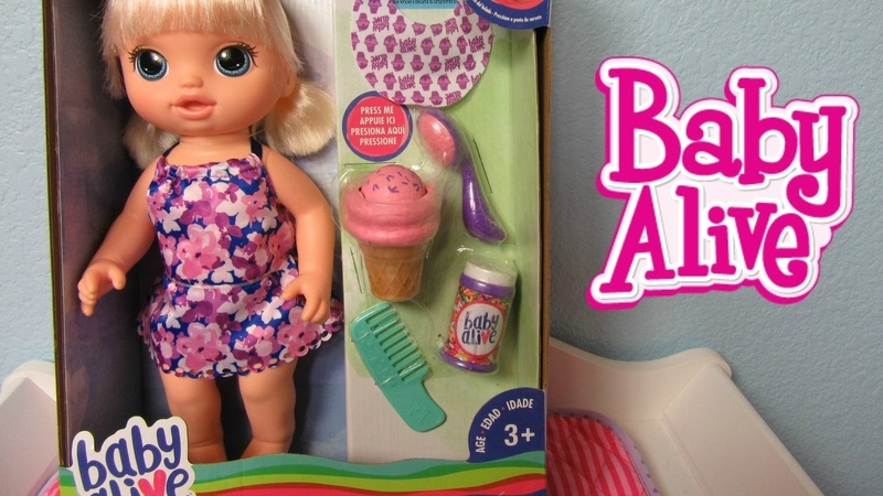 BABY ALIVE Magical Scoops Baby Doll Unboxing by Hasbro with Baby Alive Channel Shout out!