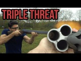 Chiappa Triple Threat 12 Gauge Review + Melon Smashing