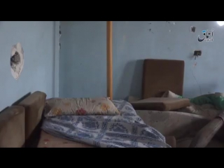 Video IS fighters in the field hospital taken today, to the NW of the DeirEzzor airbase.