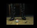Overknee boots, opera gloves, trampling, crushing[via