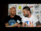 Lucky Life TV interview Sebastien Leger at Carl Cox's 'The Revolution Recruits' at Space