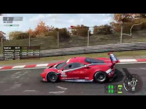 Project CARS2: Ferrari 488 GTE - gamepad demo run
