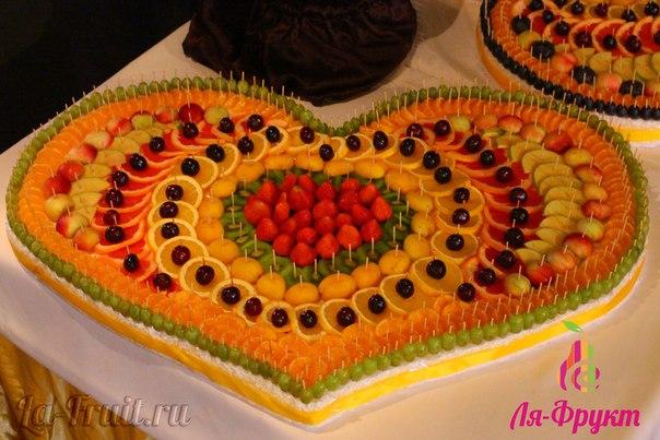Украшение фруктов на свадьбу фото