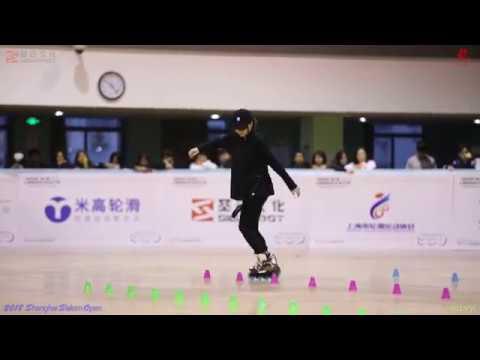2018 SSO 上海轮滑公开赛 成女花桩,12th,罗炜烨 上海SEBA队