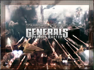 Command & Conquer Generals: Project Raptor #C&C #Generals #ZeroHour