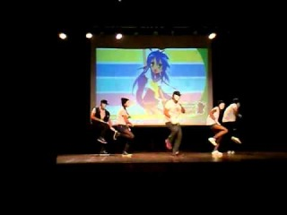 FANCAM Apresentao cover - Jokers -  Project K-Popper - Anime&Ao 2012 - 21/10/12