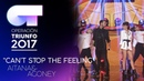 "Can't Stop The Feeling"" - Aitana y Agoney Gala 2 OT 2017"
