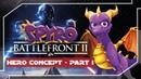 BATTLEFRONT 2 Inspired SPYRO Concept - SPYRO CYNDER (Heroes - Part 1)