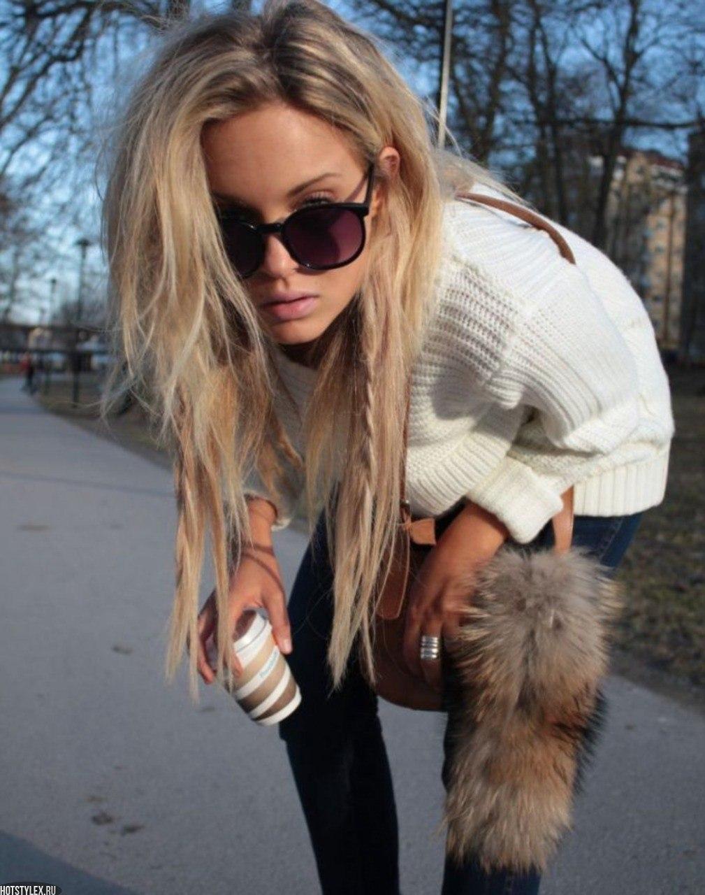 Фото девушек блондинок с социальных сетей 21 фотография